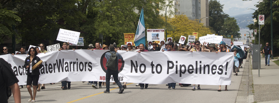 No to Trans Mountain Pipeline Vancouver